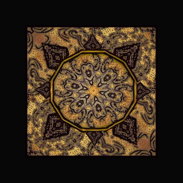 Golden day mandala WEB